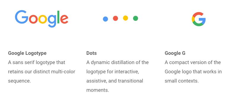 Evolving Logo Google